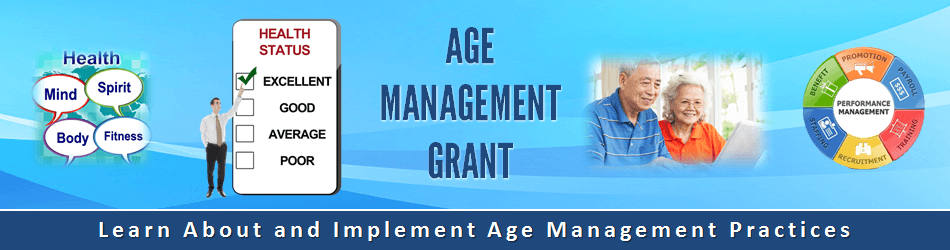 Banner for Age Management Grant