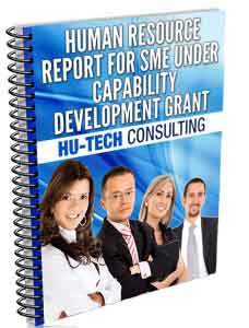 Human Resource Report for SMEs under Capability Development Grant